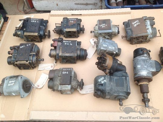 Part A variety of manufacturers Magneto & parts A variety of cars