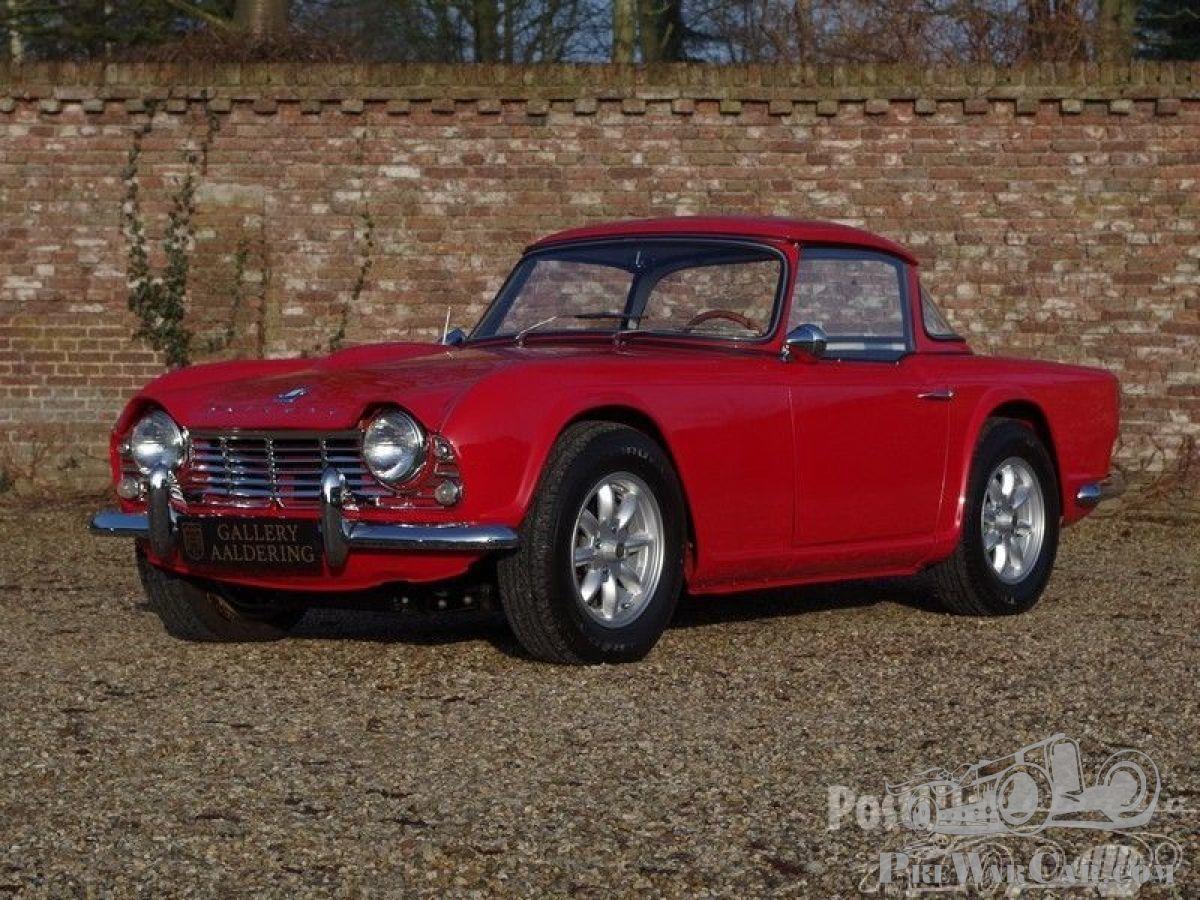 Car Triumph Tr4 Lhd Surrey Top 1961 For Sale Postwarclassic