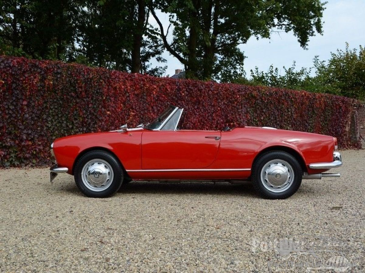 Car Alfa Romeo Giulietta Spider Cabriolet For Sale - Alfa romeo giulietta 1960 for sale