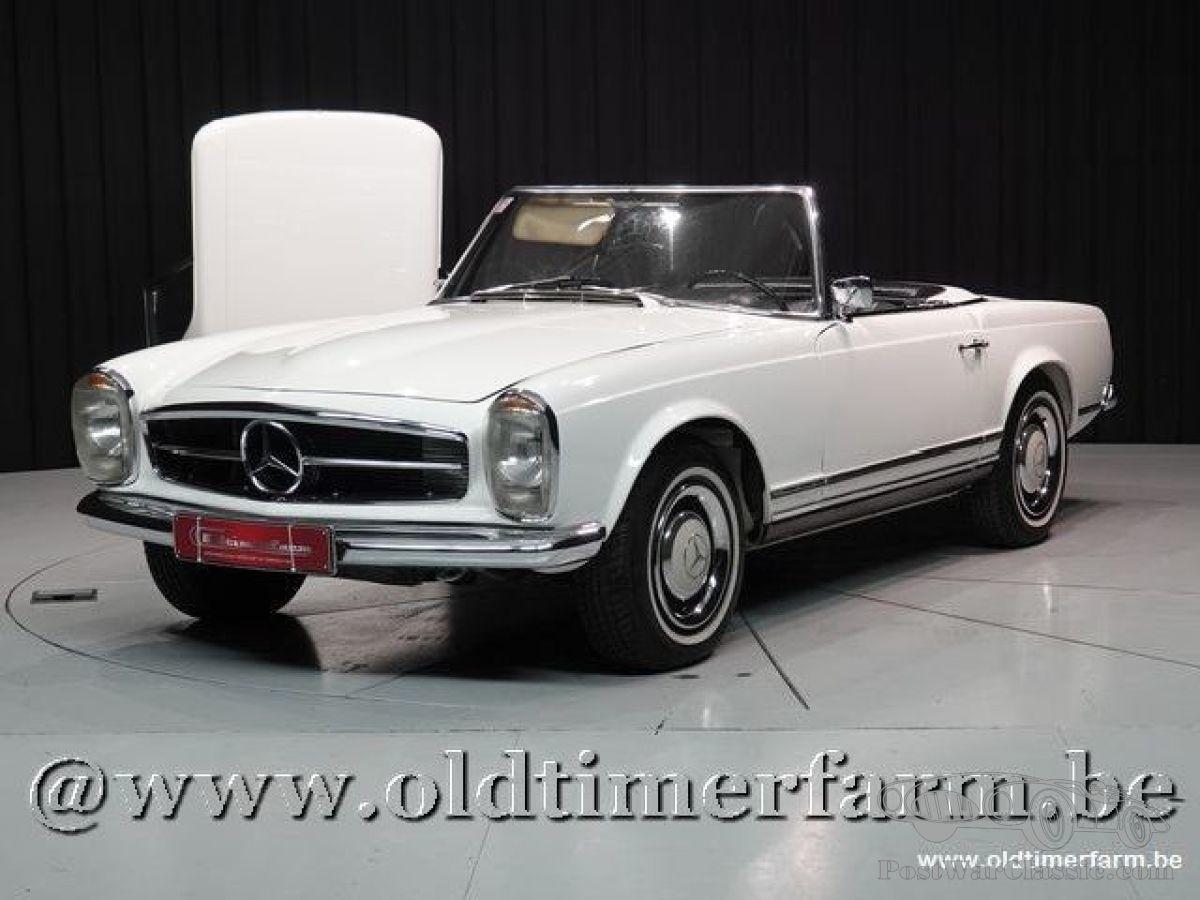 car mercedes 230sl 1964 for sale postwarclassic. Black Bedroom Furniture Sets. Home Design Ideas