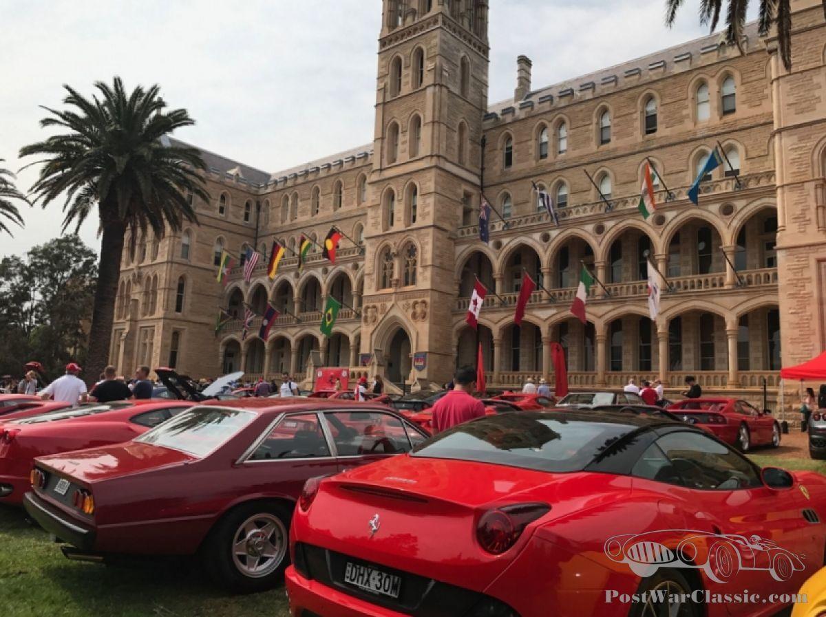 Australias Take On Ferraris Festivities Ferrari California Fuse Box