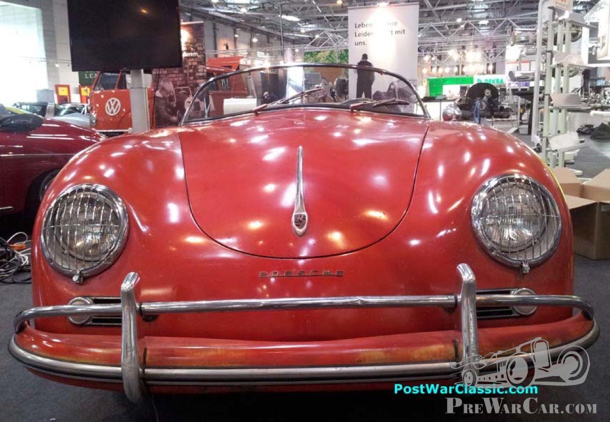 Amazingly Unrestored Porsche 356 Speedster Fuse Box