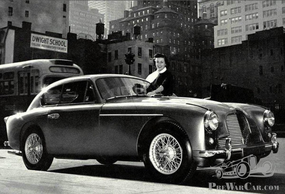 1950 Aston Martin Db2 Mirror Manuals